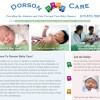 Baby Care Website Home Page